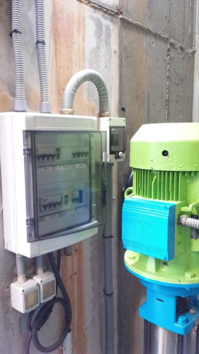 Cuadros eléctricos para depuradoras  Toledo
