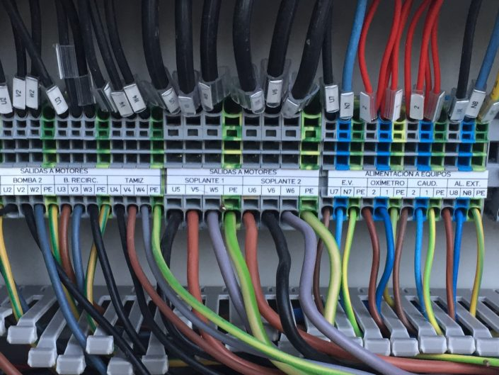 Cuadros eléctricos para depuradoras  Tarragona