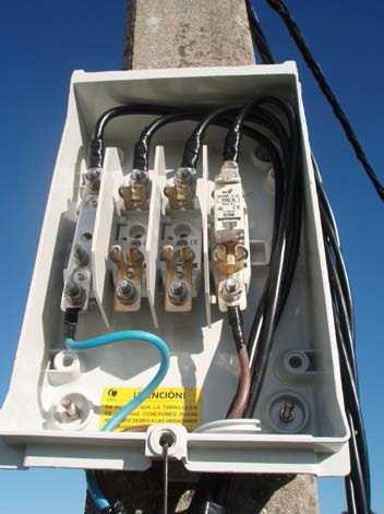 Cuadros eléctricos de distribución