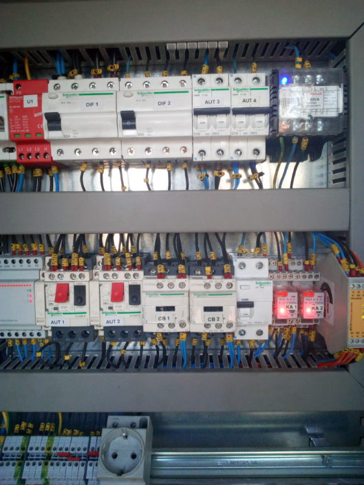 Cuadros eléctricos de climatización  Vitoria